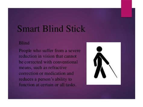 Blind People Stick Smart Blind Stick
