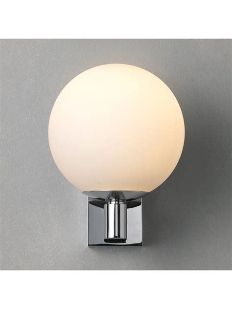 astro sagara bathroom wall light at lewis partners