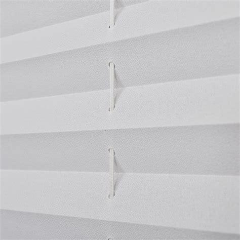 plissee faltrollo plissee faltrollo rollo plisseerollo 80x200cm wei 223 g 252 nstig