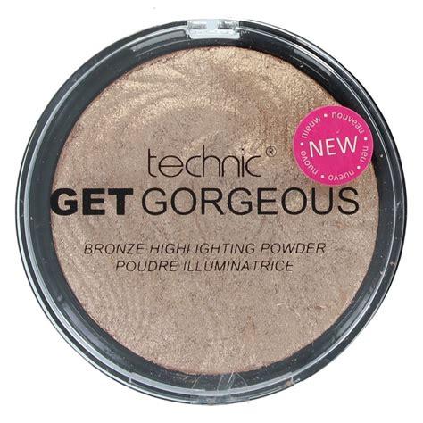 Velleza Set 2in1 technic get gorgeous bronzing highlighting powder www cosmeticosprimavera