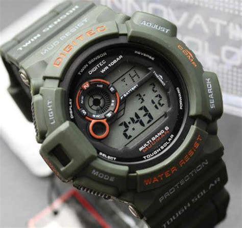 Jam Tangan G Shock Rantai Hitam Time Kw digitect digital mud resist adalah jam tangan pria yang dapat digunakan untuk berenang atau