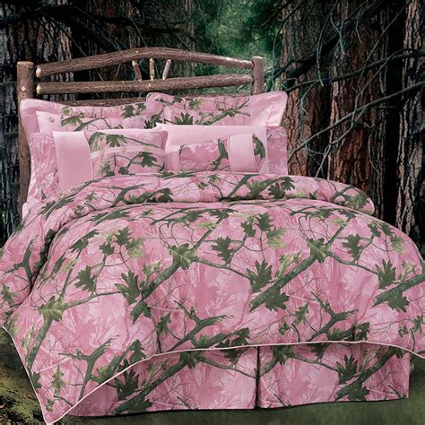 Camo Patchwork Quilt Set - realtree patchwork quilted bedding cabin place