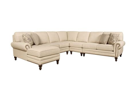 couch with nailhead trim nailhead sectional sofa furniture of america cm6156 3 pc
