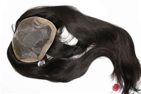 hair pieces for women with thin hair on top african american thin skin hairpieces for women size 5 6 by14 inches human