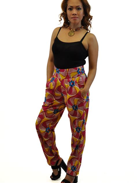 ankara with trouser up nd down african ankara trousers african clothing store