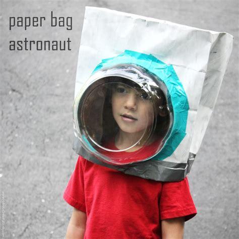 Armour Paperbag paper bag astronaut helmet tutorial cake dome astronauts and helmets