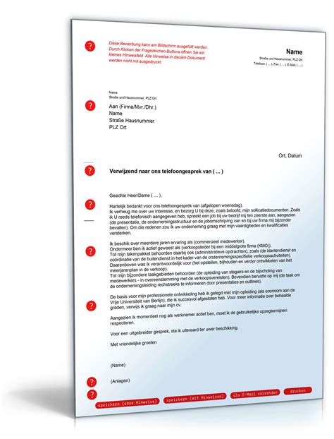 Bewerbung Ms Deutschland Anschreiben Bewerbung Niederl 228 Ndisch Muster Zum