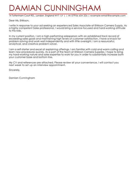 sales cover letter templates cover letter templates