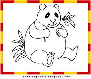 coloring pages of panda bears cooloring com