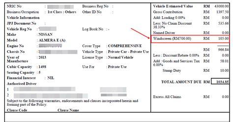Cermin Nissan Almera renew insurans roadtax mudah