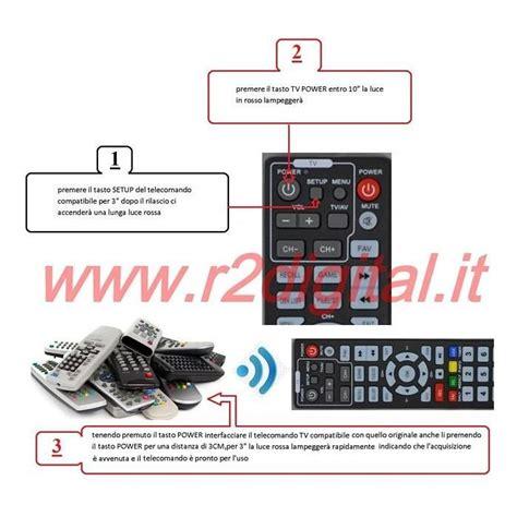 universal digitale terrestre telecomando universale danystar per tv televisore