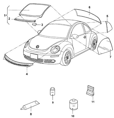 vw beetle body parts f body radiator support f free engine image for user