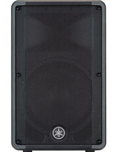 Speaker Yamaha Dbr 12 yamaha dbr12 compact 12 powered speaker