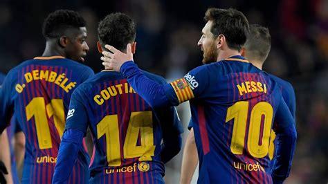 wallpaper trio barcelona goal coutinho vs girona youtube