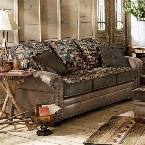 Cabin Sleeper Sofa by Woodland Cabin Sofa
