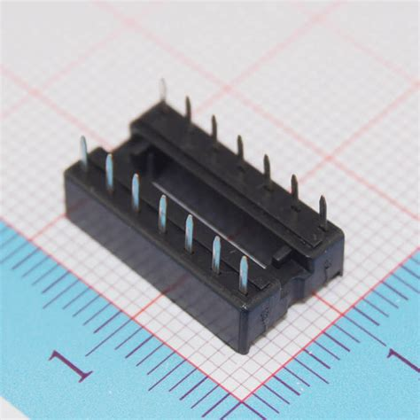 integrated circuit sockets definition 20pcs 14 pin integrated circuit ic sockets adaptor solder type dip14 new ebay