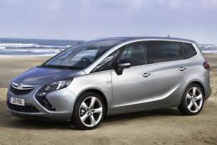 Opel Zafira Images All New 2012 Opel Zafira 7 Seater Minivan With Revised Car