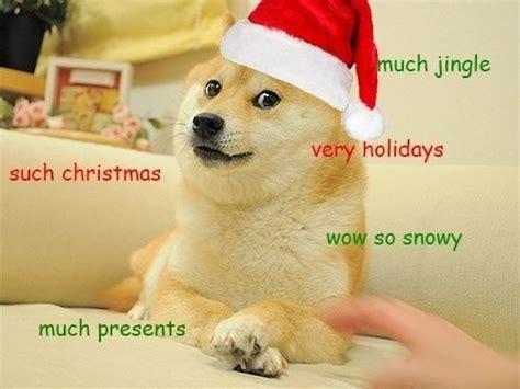 Christmas Doge Meme - such cheer christmas doge humor pinterest