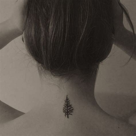 evergreen tree tattoo 1000 ideas about simple tree on tree
