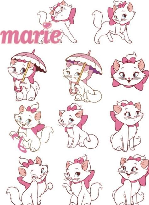 free vector disney marie cat set 01 titanui