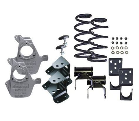 lowering kit for gmc mcgaughy lowering kit for chevy gmc truck 1 2 ton 2wd