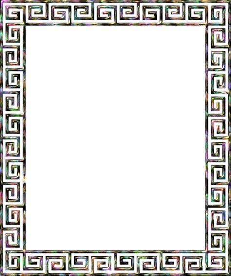 versace pattern png clipart greek key frame 4