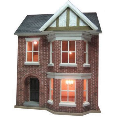 dolls house scale decorated bay view dolls house 1 24 scale built