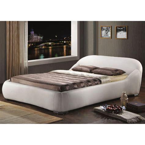 white leather king size bed manhattan white faux leather king size bed