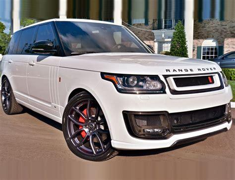 all white range rover range rover khan white aspire autosports