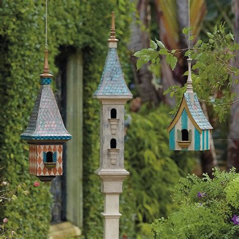 victorian birdhouse collection for the garden pinterest