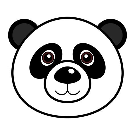 Panda Outline Drawing by Panda Drawings For Wallpapers Gallery