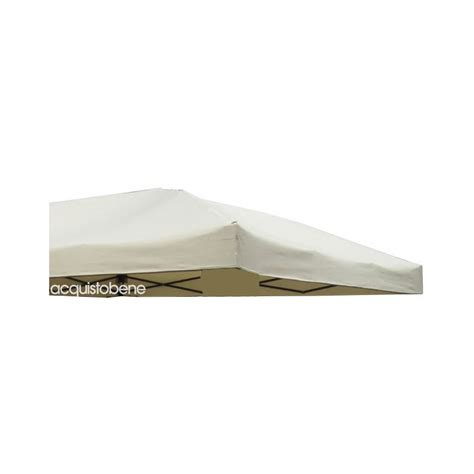 copertura per gazebo 3x3 telo gazebo 3x3 mt richiudibile rapid top copertura di