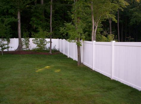 backyard vinyl fence vinyl fence gallery round hill fence
