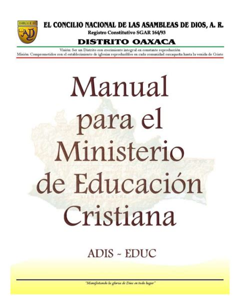 manual para maestros de escuela dominical descargar manual para el departamento de educacion cristiana
