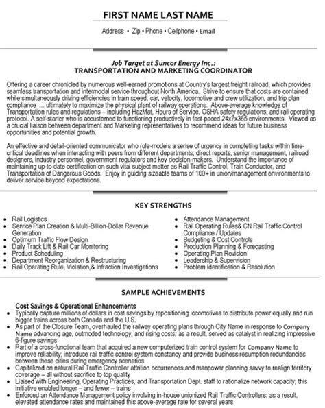 Logistics Specialist Resume Sample by Transportation Coordinator Resume Sample Amp Template