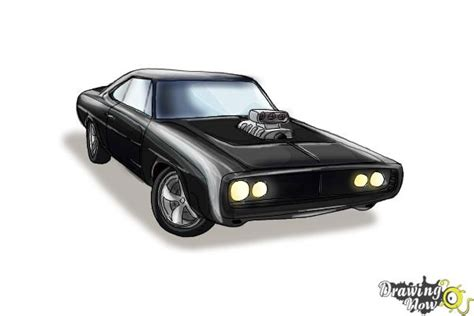 1970 dodge charger drawing how to draw a 1970 dodge charger from the fast and the