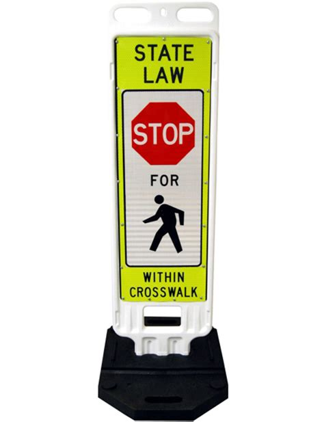 Barricade 2x3 By Safety Store crosswalk sign barricades with base traffic safety store