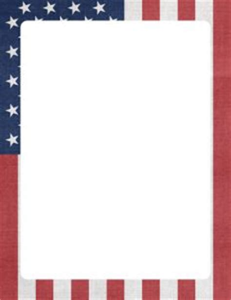 patriotic stationery printable 4th of july printable stationery printable