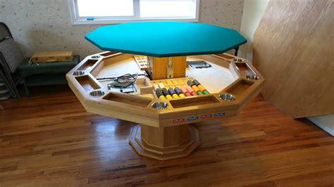 custom poker table youtube