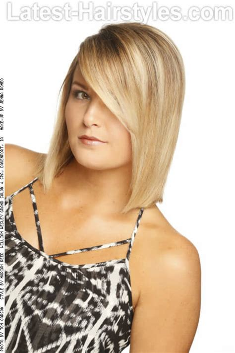 tied up hairstyles for round face 53 super cute medium haircuts and hairstyles
