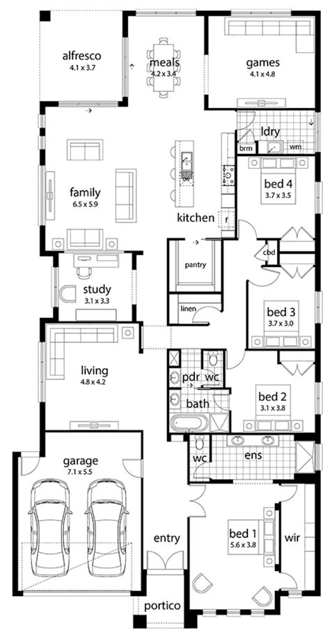 floor plan friday 6 bedrooms floor plan friday large family home
