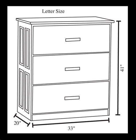 Letter Size Lateral File Cabinet 3 Drawer Lateral File Cabinet Ohio Hardwood Furniture
