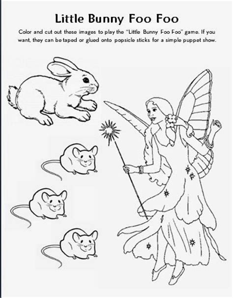 little bunny coloring pages free coloring pages of little rabbit foo foo