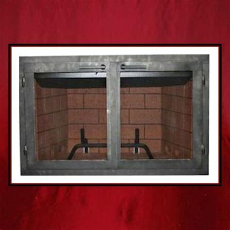 Custom Fireplace Screen Doors by Fireplace Door Northshore
