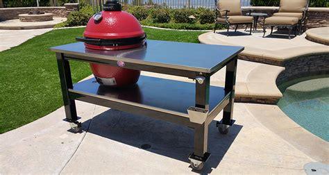 kamado joe stainless steel table table gallery brian alan tables