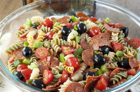 pasta salad italian dressing i eat houston classic italian pasta salad recipe