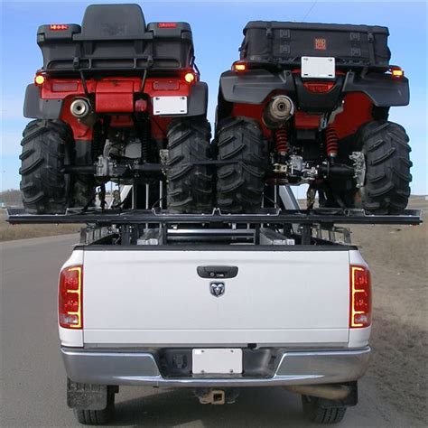Rack For Truck by Haulall Atv Truck Rack System Holds 2 Atvs Discount Rs