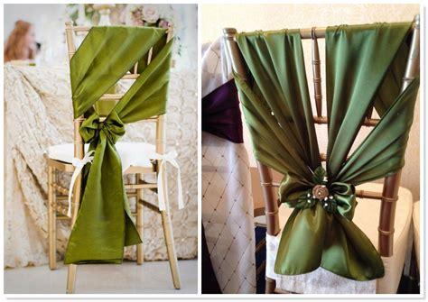 unique chair sash ties 2014 wedding trends top 10 unique chair sash styles