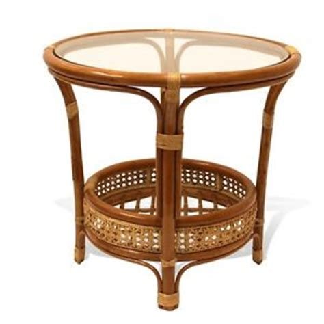 leo handmade rattan wicker small round accent end coffee pelangi handmade rattan wicker round coffee table with