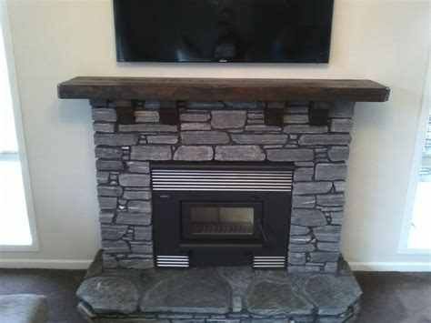 Home Needs Mantle Piece Entertainment Units Natural Wood